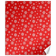 Xmas Pattern Canvas 8  X 10