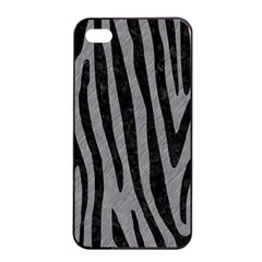 Skin4 Black Marble & Gray Colored Pencil Apple Iphone 4/4s Seamless Case (black)