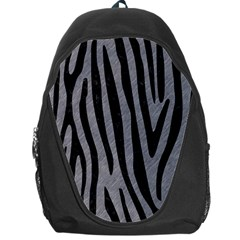 Skin4 Black Marble & Gray Colored Pencil Backpack Bag