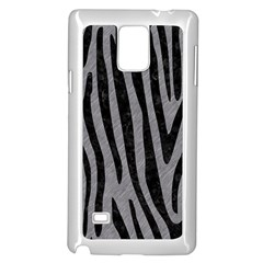 Skin4 Black Marble & Gray Colored Pencil Samsung Galaxy Note 4 Case (white)