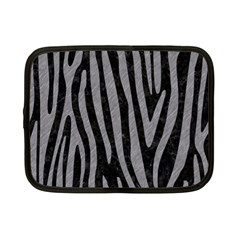 Skin4 Black Marble & Gray Colored Pencil (r) Netbook Case (small)