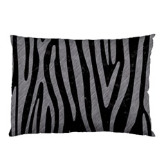 Skin4 Black Marble & Gray Colored Pencil (r) Pillow Case