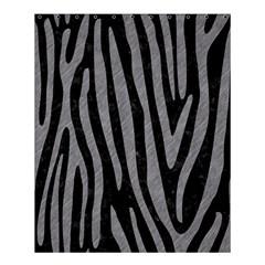 Skin4 Black Marble & Gray Colored Pencil (r) Shower Curtain 60  X 72  (medium)