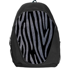 Skin4 Black Marble & Gray Colored Pencil (r) Backpack Bag