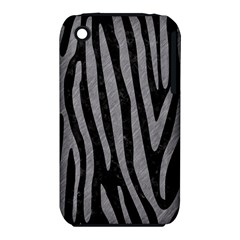 Skin4 Black Marble & Gray Colored Pencil (r) Iphone 3s/3gs