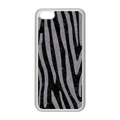 Skin4 Black Marble & Gray Colored Pencil (r) Apple Iphone 5c Seamless Case (white)