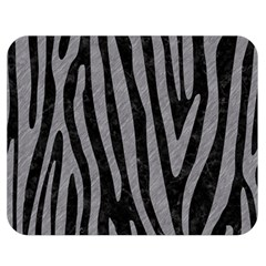 Skin4 Black Marble & Gray Colored Pencil (r) Double Sided Flano Blanket (medium)