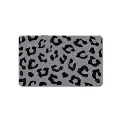 Skin5 Black Marble & Gray Colored Pencil Magnet (name Card)