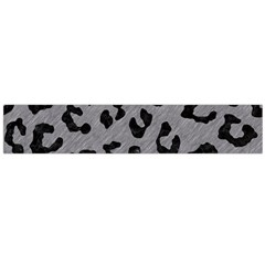 Skin5 Black Marble & Gray Colored Pencil Flano Scarf (large)