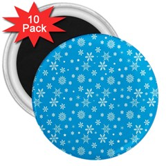 Xmas Pattern 3  Magnets (10 Pack)