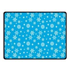 Xmas Pattern Fleece Blanket (small)