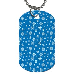 Xmas Pattern Dog Tag (two Sides)