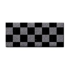 Square1 Black Marble & Gray Colored Pencil Cosmetic Storage Cases