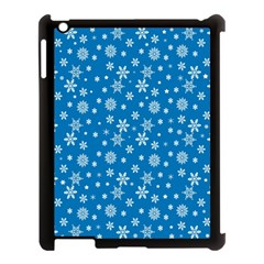 Xmas Pattern Apple Ipad 3/4 Case (black)