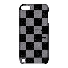 Square1 Black Marble & Gray Colored Pencil Apple Ipod Touch 5 Hardshell Case With Stand
