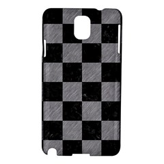 Square1 Black Marble & Gray Colored Pencil Samsung Galaxy Note 3 N9005 Hardshell Case