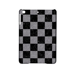 Square1 Black Marble & Gray Colored Pencil Ipad Mini 2 Hardshell Cases