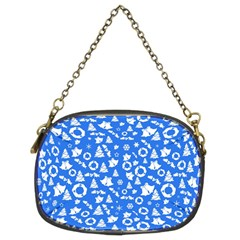 Xmas Pattern Chain Purses (two Sides)