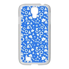 Xmas Pattern Samsung Galaxy S4 I9500/ I9505 Case (white)
