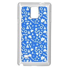 Xmas Pattern Samsung Galaxy Note 4 Case (white)