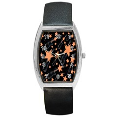 Guitar Star Rain Barrel Style Metal Watch