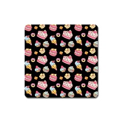 Sweet Pattern Square Magnet