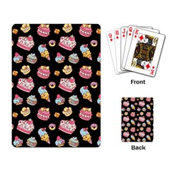 Sweet Pattern Playing Card