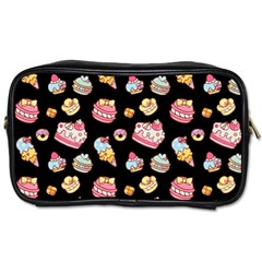 Sweet Pattern Toiletries Bags 2 Side
