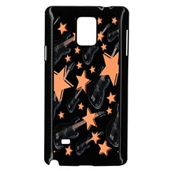 Guitar Star Rain Samsung Galaxy Note 4 Case (black)
