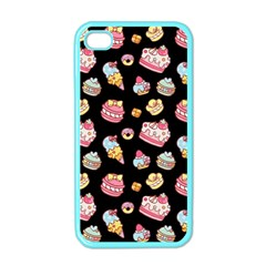 Sweet Pattern Apple Iphone 4 Case (color)