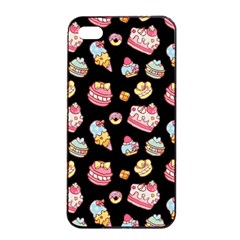 Sweet Pattern Apple Iphone 4/4s Seamless Case (black)