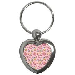 Sweet Pattern Key Chains (heart)