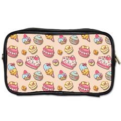 Sweet Pattern Toiletries Bags