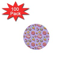 Sweet Pattern 1  Mini Buttons (100 Pack)