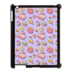 Sweet Pattern Apple Ipad 3/4 Case (black)