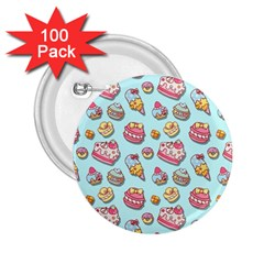 Sweet Pattern 2 25  Buttons (100 Pack)