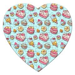 Sweet Pattern Jigsaw Puzzle (heart)