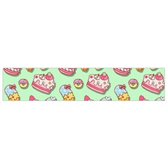 Sweet Pattern Flano Scarf (small)