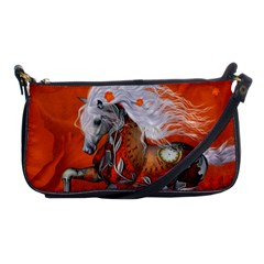 Steampunk, Wonderful Wild Steampunk Horse Shoulder Clutch Bags