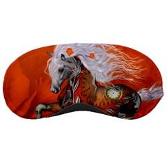 Steampunk, Wonderful Wild Steampunk Horse Sleeping Masks