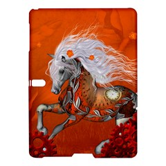 Steampunk, Wonderful Wild Steampunk Horse Samsung Galaxy Tab S (10 5 ) Hardshell Case