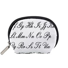 Alphabet Embassy Font Accessory Pouches (small)