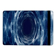 Worm Hole Line Space Blue Samsung Galaxy Tab Pro 10 1  Flip Case