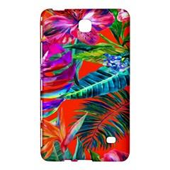 Aloha Hawaiian Flower Floral Sexy Summer Orange Samsung Galaxy Tab 4 (8 ) Hardshell Case