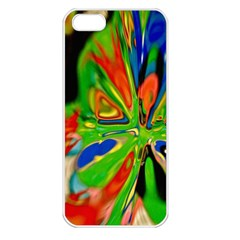 Acrobat Wormhole Transmitter Monument Socialist Reality Rainbow Apple Iphone 5 Seamless Case (white)