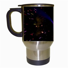 Animation Plasma Ball Going Hot Explode Bigbang Supernova Stars Shining Light Space Universe Zooming Travel Mugs (white)