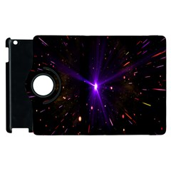 Animation Plasma Ball Going Hot Explode Bigbang Supernova Stars Shining Light Space Universe Zooming Apple Ipad 2 Flip 360 Case