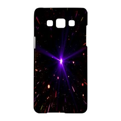 Animation Plasma Ball Going Hot Explode Bigbang Supernova Stars Shining Light Space Universe Zooming Samsung Galaxy A5 Hardshell Case