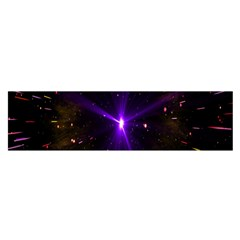 Animation Plasma Ball Going Hot Explode Bigbang Supernova Stars Shining Light Space Universe Zooming Satin Scarf (oblong)