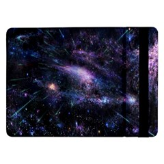 Animation Plasma Ball Going Hot Explode Bigbang Supernova Stars Shining Light Space Universe Zooming Samsung Galaxy Tab Pro 12 2  Flip Case